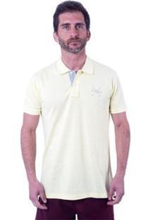 Camisa Polo England Polo Club Slim Bb Masculina - Masculino-Amarelo Claro