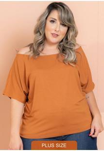 Blusa Big Caramelo Plus Size