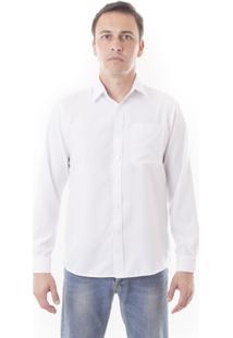 Camisa Social Lisa Microfibra - Manga Longa - Vuzillo - Masculino