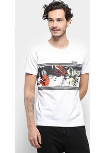Camiseta Stanley Waves Masculina - Masculino-Branco