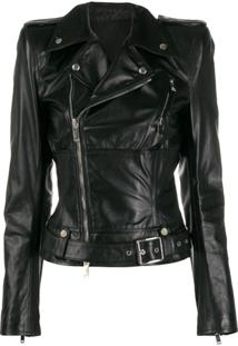Unravel Project Biker Jacket - Preto