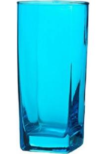 Conjunto De Copos Bali Azul 320Ml 6 Peças Casa Linda