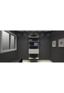Módulo Aramado 8053 Branco - Getama Móveis