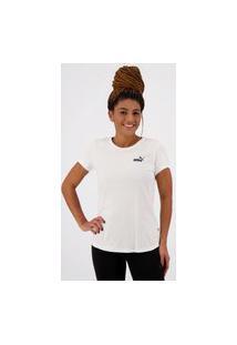 Camiseta Puma Essentials Feminina Branca