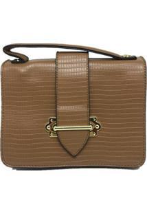 Bolsa Casual Sys Fashion 8536 Feminina - Feminino-Caramelo