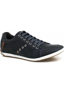 Sapatênis Zariff Shoes Casual Couro - Masculino