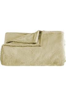 Cobertor Solteiro Kacyumara Blanket Microfibra Fendi Claro