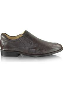 Sapato Anatomic Gel Veneza - Masculino-Marrom