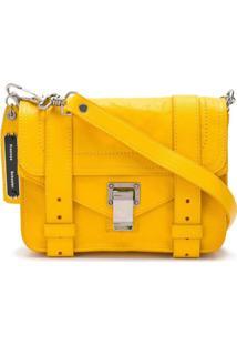Proenza Schouler Bolsa Transversal 'Ps1 Mini' De Couro - Amarelo