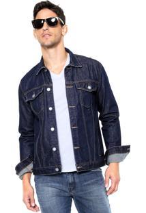 Jaqueta Jeans John John Kiev Azul-Marinho