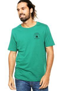 Camiseta Colcci Tag Leão Verde