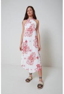 Vestido Oh, Boy! Est Floral Lunar - Feminino