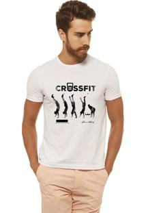 Camiseta Joss - Crossfit - Masculina - Masculino-Branco