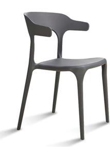 Cadeira Facthus Viena Sala De Jantar Cinza