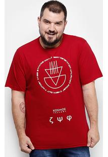Camiseta Yellowl Plus Size Masculina - Masculino