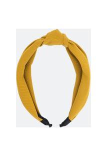 Tiara Detalhe Nó | Accessories | Mostarda | U