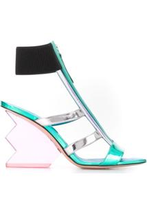 Nicholas Kirkwood Aurora Specchio Sandals - Azul