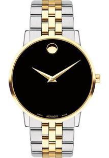 9c464d6f2ce Vivara. Relógio Masculino Aço Dourado ...