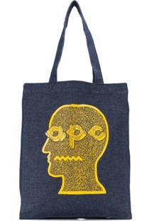 A.P.C. X Brain Dead Denim Tote - Azul
