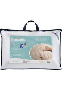 Travesseiro De Látex Basic Soft Dunlopillo