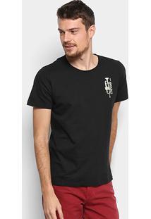 Camiseta Coca-Cola Trompete Masculina - Masculino-Preto