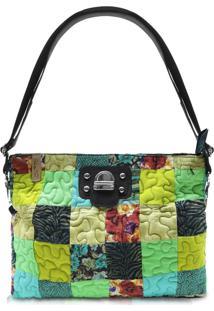 Bolsa Carteira Leliana Clover Em Patchwork Original - Multicolorido - Feminino - Dafiti