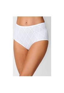 Calcinha Liz Hot Pant Expression Branca