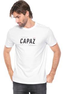 Camiseta Reserva Capaz Branca