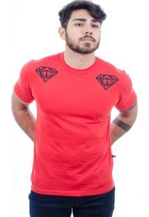 Camiseta Hardivision Diamonds Manga Curta - Masculino