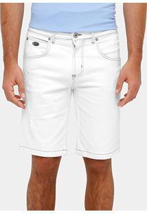 Bermuda Jeans Forum Slim Puidos Masculina - Masculino