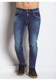 Calça Jeans Sawary Comfort Skinny Azul