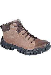 Bota Adventure Masculina Sandro Moscoloni Mountain Marrom