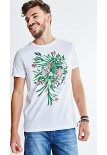 Camiseta Caveira Índio
