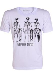 Camiseta Gang Skull Skaters Branca
