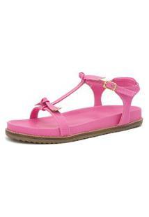 Sandalia Birken Raste Verde Azaleia Laço Kuento Shoes