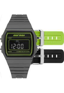 83a26520bc0 Eclock. Relógio Feminino Digital Technos Mormaii Clock Fivela Casual Troca  Pulseira ...