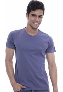 Camiseta Oitavo Ato Monitor Masculina - Masculino-Azul
