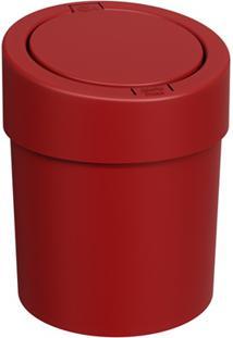 Lixeira Automática Press 5 Litros Vermelho Bold