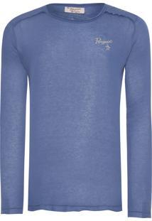 Camiseta Masculina Especial Mi - Azul