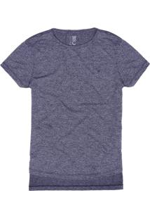T-Shirt West Coast Modern Fabric Mirtilo