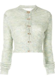 Alice Mccall Cardigan Cropped - Verde