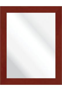 Espelho Savana Vermelho 37X47Cm