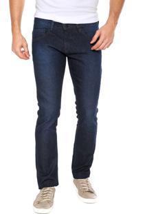 Calça Jeans Fiveblu Slim Stone Azul