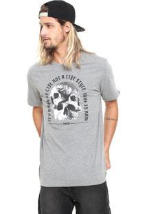 Camiseta Mcd Skull Cinza