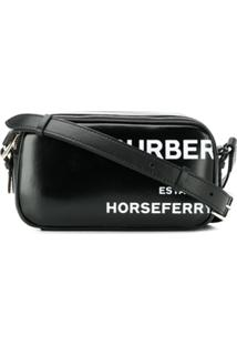 Burberry Bolsa Horseferry Micro - Preto