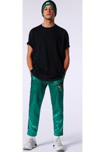 Camiseta Diesel T-Lucas-T Masculina - Masculino-Preto