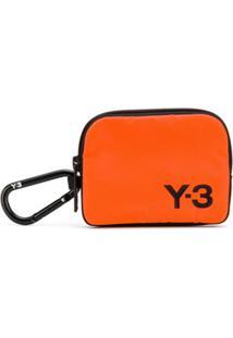 Y-3 Porta-Moedas Com Estampa De Logo - Laranja