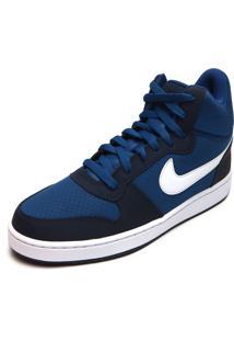 Tênis Nike Sportswear Court Borough Mid Azul
