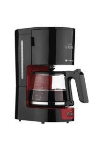 Cafeteira Elétrica Cadence Urban Caf600 Vermelha E Preto 127V