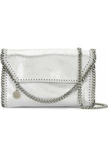 Stella Mccartney Mini Falabella Shoulder Bag - Cinza